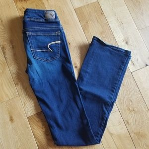 LIKE NEW American Eagle Kick Boot Jeans Size 0